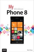 Book Cover: My Windows Phone 8 (Pearson, 2014)