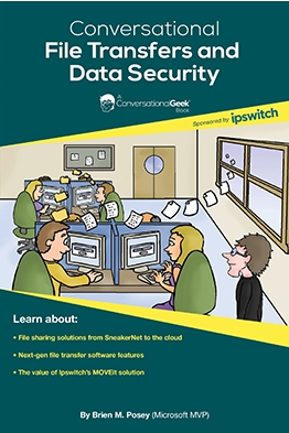 Book Cover: Conversational File Transfers and Data Security