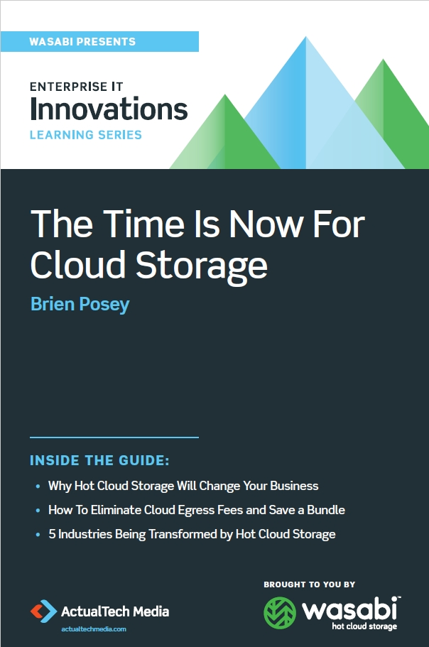Book Cover: The Time is Now for Cloud Storage