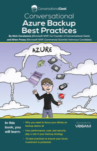 Book Cover: Conversational Azure Backup Best Practices